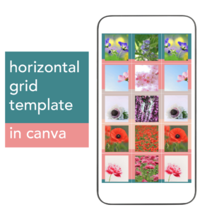 Instagram Grid Template Canva