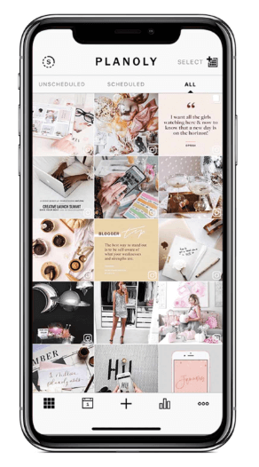Instagram Scheduling with Planoly Photo