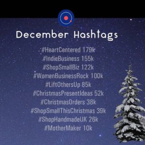 Popular December Hashtags