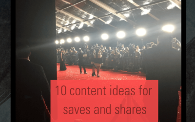 10 Content Ideas Your Audience Will Want To Share & Save