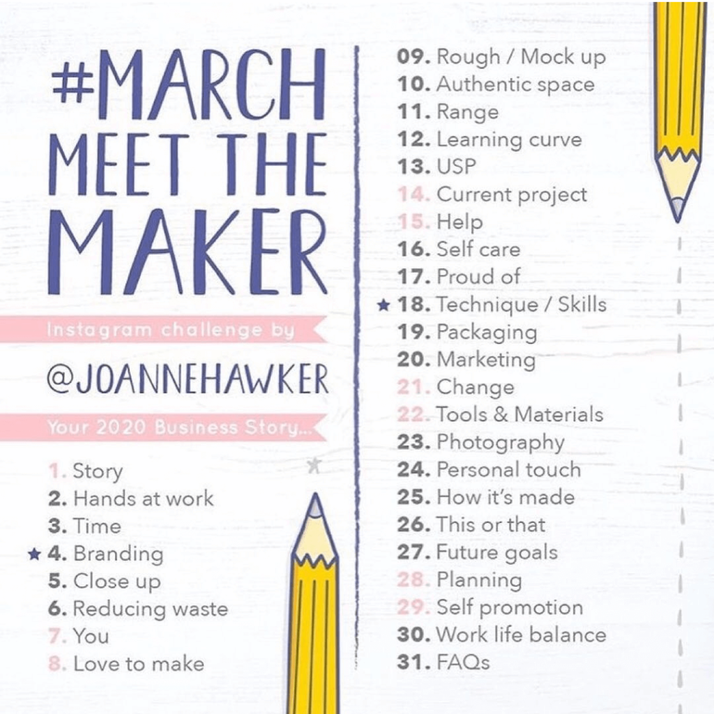 March Meet The Make List