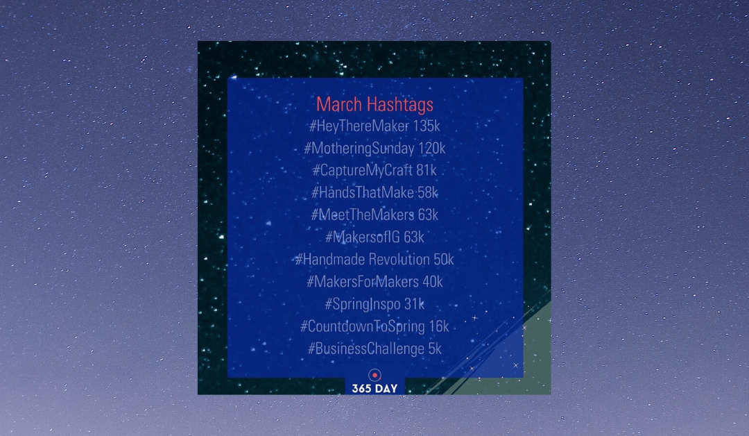 March 2020 Instagram Hashtags