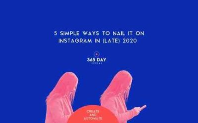 5 simple ways to nail Instagram in (late) 2020
