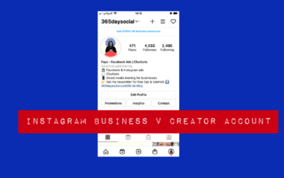 Instagram Business v Creator Accounts