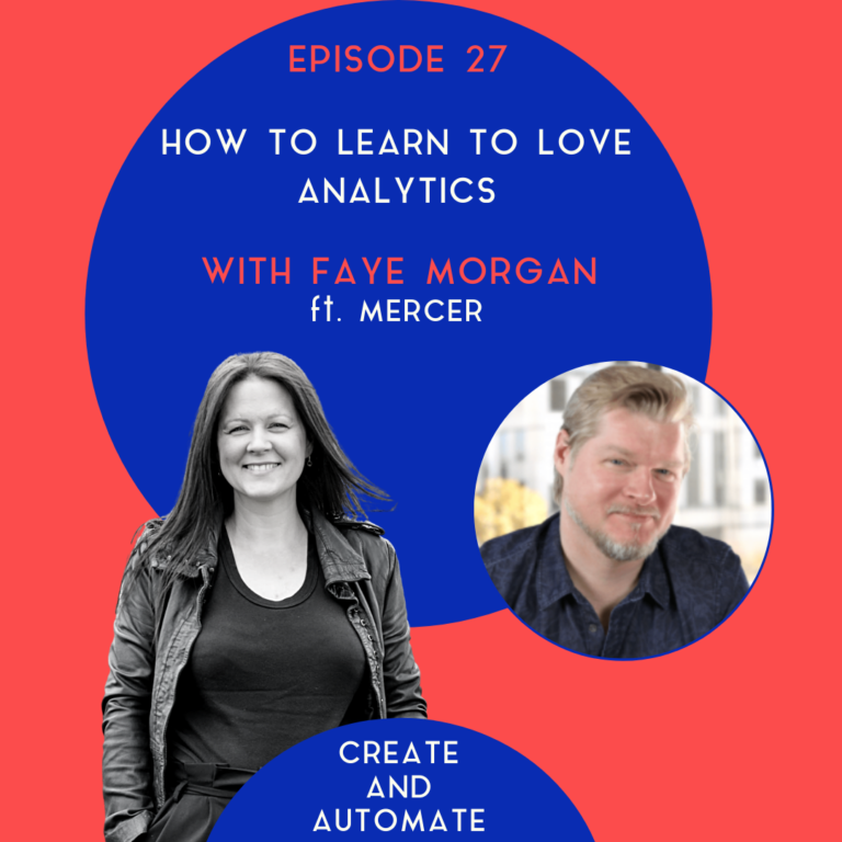 Learning To Love Analytics with Mercer | 27